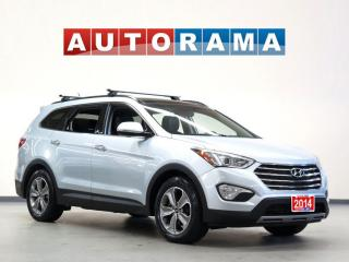 Used 2014 Hyundai Santa Fe NAVIGATION LEATHER PAN SUNROOF 4WD BACKUP CAMERA for sale in North York, ON