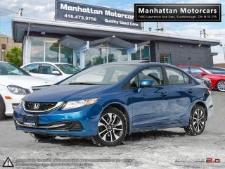 Used 2013 Honda Civic EX AUTOMATIC |CAMERA|SUNROOF|BLUETOOTH|WARRANTY for sale in Scarborough, ON