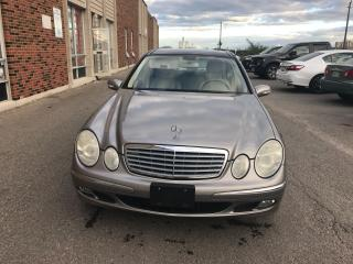Used 2006 Mercedes-Benz E-Class 3.5L 4MATIC for sale in Brampton, ON