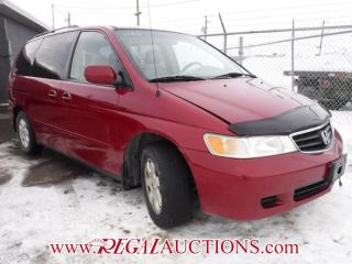Used 2003 Honda Odyssey WAGON for sale in Calgary, AB