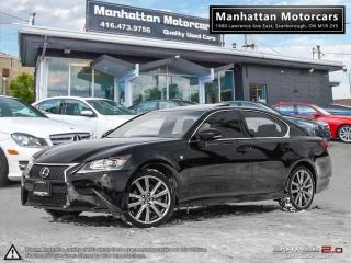 Used 2014 Lexus GS 350 AWD F SPORT PKG |NAV|CAMERA|PHONE|WARRANTY|66KM for sale in Scarborough, ON