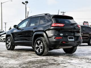 Used 2016 Jeep Cherokee Trailhawk ~Nav ~Backup Camera ~Panoramic Roof for sale in Barrie, ON