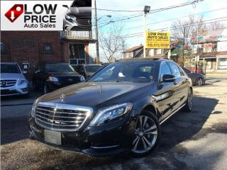 Used 2015 Mercedes-Benz S-Class S550*LWB*NightVision*BlindSpot*FullLoad* for sale in York, ON