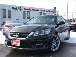 Used 2014 Honda Accord Sedan Sport | Back Up Camera - New Tirtes for sale in Mississauga, ON