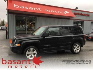 Used 2013 Jeep Patriot Heated Seats, Alloy Wheels, Low KMs!! for sale in Surrey, BC