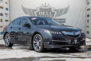 Used 2015 Acura TLX TECH PKG NAVI LEATHER SUNROOF BACKUP CAMERA for sale in North York, ON