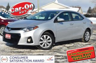 Used 2014 Toyota Corolla Type S HEATED SEATS REAR CAM BLUETOOTH for sale in Ottawa, ON