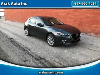 Used 2015 Mazda MAZDA3 s Grand Touring AT 5-Door for sale in Mississauga, ON