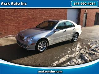 Used 2007 Mercedes-Benz C-Class C280 Luxury Sedan 4Matic for sale in Mississauga, ON