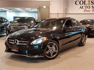 Used 2015 Mercedes-Benz C-Class C300 4MATIC-NAVI-PANO ROOF-ONLY 32KM for sale in York, ON