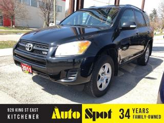 Used 2011 Toyota RAV4 6cyl/PRICED FOR A QUICK SALE! for sale in Kitchener, ON