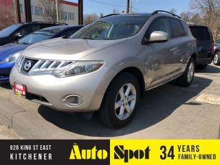 Used 2010 Nissan Murano S/LOW, LOW KMS/PANORAMIC/MINT! for sale in Kitchener, ON