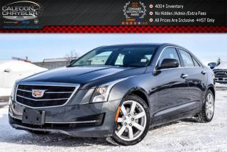 Used 2015 Cadillac ATS Sedan RWD|Backup Cam|Bluetooth|Leather|Heated Front Seats|Keyless Go|17