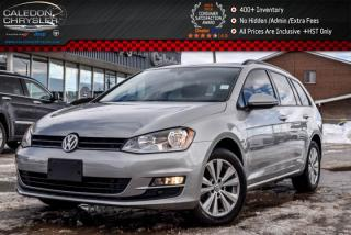 Used 2015 Volkswagen Golf Sportwagon Comfortline|Diesel|Pano Sunroof|Backup Cam|Bluetooth|Heated Front Seats|16