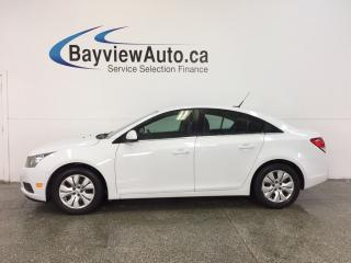 Used 2014 Chevrolet Cruze 1LT- TURBO|REM STRT|A/C|ON STAR|CRUISE|LOW KM! for sale in Belleville, ON