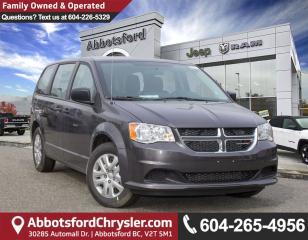 New 2018 Dodge Grand Caravan CVP/SXT for sale in Abbotsford, BC