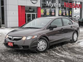 Used 2010 Honda Civic DX-G for sale in Orleans, ON