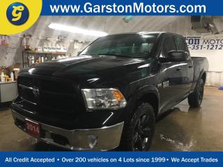 Used 2014 Dodge Ram 1500 OUTDOORSMAN*QUAD CAB*4WD*HEMI*KEYLESS ENTRY  w/REMOTE START*20X8.0 Semi-Gloss Black Aluminum Wheels*Class IV Receiver Hitch*U CONNECT PHONE* for sale in Cambridge, ON