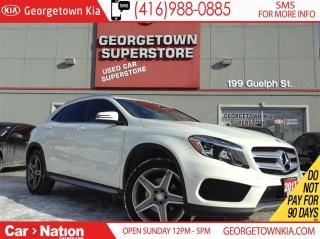 Used 2017 Mercedes-Benz GLA-Class NAVIGATION   LEATHER   AWD   2.0L   for sale in Georgetown, ON