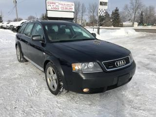 Used 2003 Audi Allroad for sale in Komoka, ON