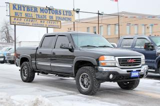 Used 2006 GMC Sierra 1500 SLT|Sunroof|Leather|DVD for sale in Brampton, ON