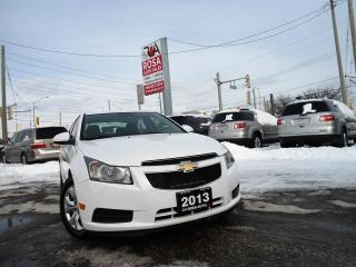 Used 2013 Chevrolet Cruze AUTO LOW KM BLUETOOTH AUX USB NO RUST NO ACCIDENT for sale in Oakville, ON