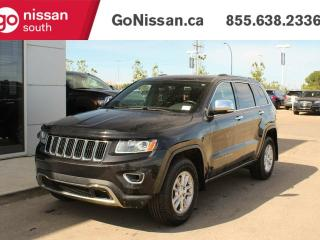 Used 2014 Jeep Grand Cherokee LIMITED: LEATHER, SUNROOF, HEATED SEATS! for sale in Edmonton, AB