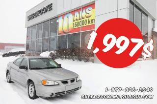 Used 2000 Pontiac Grand Am SE for sale in Sherbrooke, QC