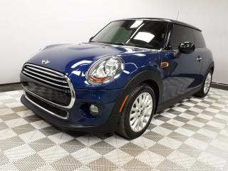 Used 2016 MINI 3 Door Cooper 6 Speed Manual - Local One Owner Trade In | No Accidents | 3M Protection Applied | Leather Interior | Heated Seats | Dual Zone Climate Control with AC | Panoramic Sunroof | Rear Skylight | Navigation | Parking Sensors | Media Screen | Bluetooth | L for sale in Edmonton, AB