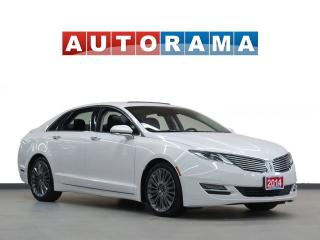 Used 2014 Lincoln MKZ NAVIGATION LEATHER PAN SUNROOF 4WD BACKUP CAMERA for sale in North York, ON
