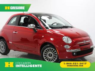 Used 2013 Fiat 500 Lounge T.ouvrant for sale in St-Léonard, QC