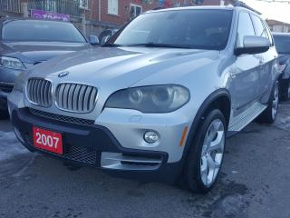 Used 2007 BMW X5 4.8L/AWD/Nav/7 Pass/Panorama-Roof/DVD/MUST SEE for sale in Scarborough, ON