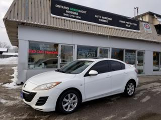 Used 2010 Mazda MAZDA3 Sunroof, Spoiler, alloys, loaded, manual transmiss for sale in Mississauga, ON