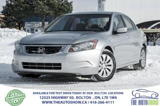 Used 2009 Honda Accord LX POWER GROUP 4 CYLINDER CRUSE CONTROL for sale in Caledon, ON