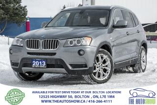 Used 2013 BMW X3 XDRIVE 28i NAVI BACK UP CAM PANO ROOF 4WD for sale in Caledon, ON
