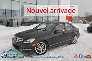 Used 2012 Mercedes-Benz C-Class 4MATIC*TOIT*MAGS*GR ELEC* for sale in Saint-jerome, QC