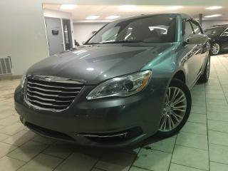Used 2012 Chrysler 200 LIMITED CUIR BLUETOOTH TOIT OUVRANT for sale in Pointe-aux-trembles, QC