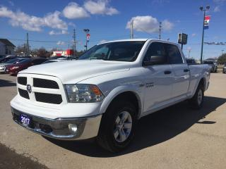 Used 2017 RAM 1500 OUTDOORSMAN * 4WD * REAR CAM * BLUETOOTH for sale in London, ON