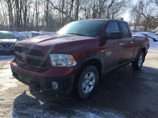 Used 2014 RAM 1500 SLT * 4WD * REAR CAM * BLUETOOTH * SAT RADIO SYSTEM * LOW KM for sale in London, ON