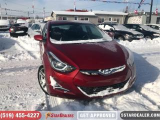 Used 2016 Hyundai Elantra GLS | CAM | ROOF | HEATED SEATS for sale in London, ON