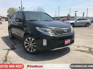 Used 2015 Kia Sorento SX | NAV | ROOF | AWD | LEATHER | CAM for sale in London, ON