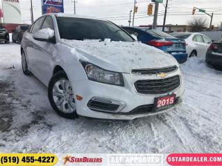 Used 2015 Chevrolet Cruze LT | CAM | BLUETOOTH | SAT RADIO for sale in London, ON