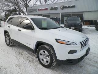 Used 2015 Jeep Cherokee for sale in Owen Sound, ON