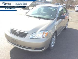 Used 2008 Toyota Corolla CE   Low Mileage for sale in Courtenay, BC