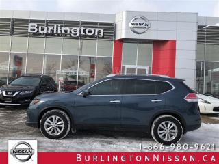 Used 2014 Nissan Rogue SV, 7 PASSENGER, NAVi, ACCIDENT FREE ! for sale in Burlington, ON