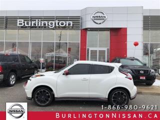 Used 2015 Nissan Juke NISMO AWD NAVi ACCIDENT FREE for sale in Burlington, ON
