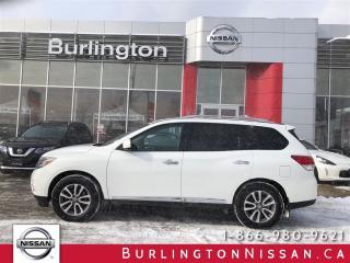 Used 2014 Nissan Pathfinder SL for sale in Burlington, ON