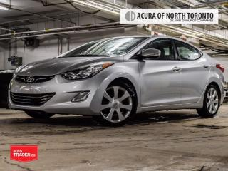 Used 2013 Hyundai Elantra Limited at Accident Free| Bluetooth| Heated Seat for sale in Thornhill, ON