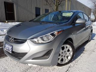 Used 2015 Hyundai Elantra GL In very nice condition for sale in Mississauga, ON