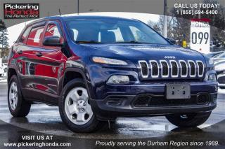 Used 2015 Jeep Cherokee 4x4 Sport for sale in Pickering, ON